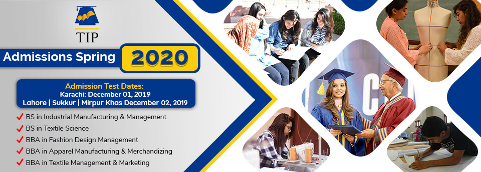 Admission Open Spring 2020